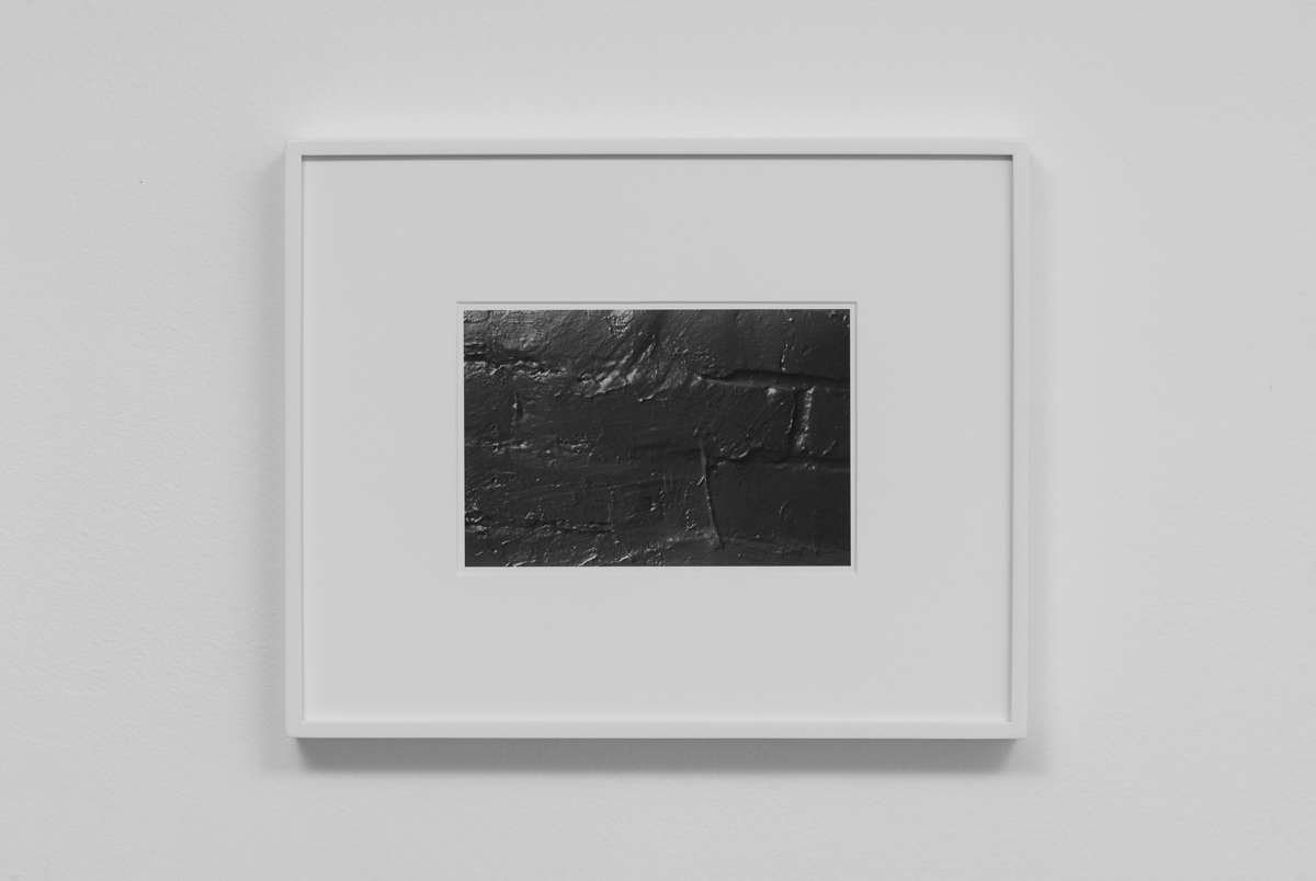 Carter Seddon - Painted Bricks, 2015, archival inkjet print, 11 ¾ x 14 ½ inches framed