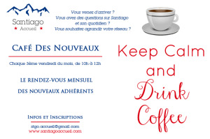 Café des Nouveaux Santiago Accueil