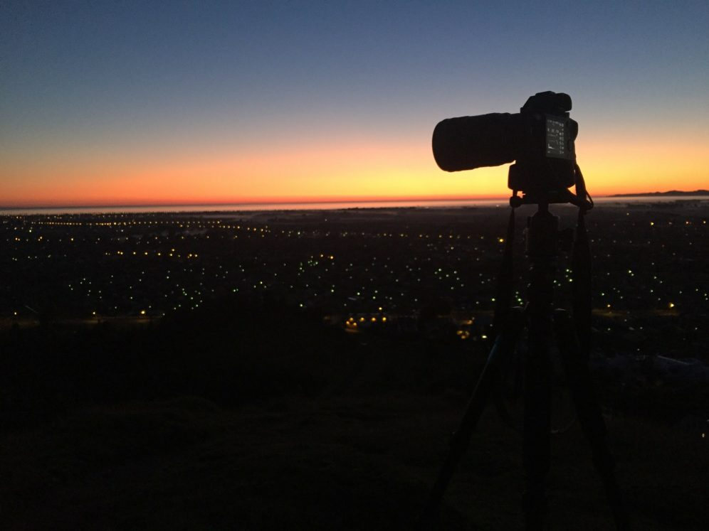 Sunrise on Sugar Loaf Hill