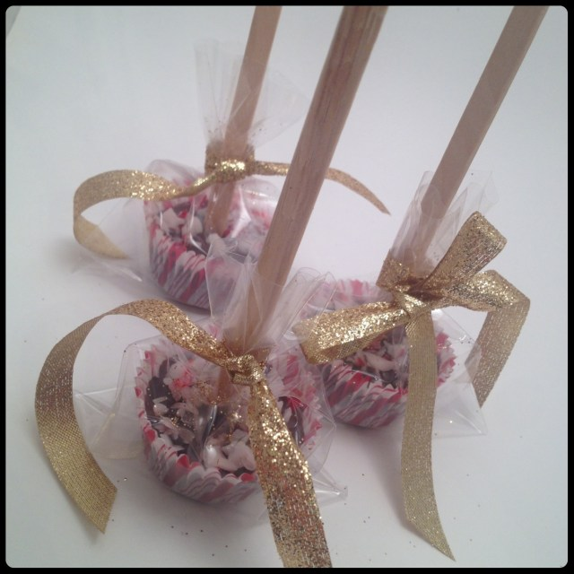 Dk. Chocolate Peppermint Stir Stick Packaged