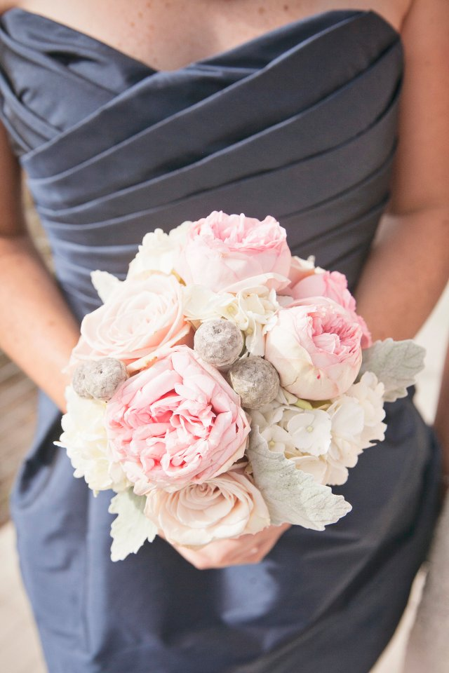 Chambers Bay Wedding Bridesmaid Bouquet || Flowers By: Jen's Blossoms || Photo By: Lloyd Photographers