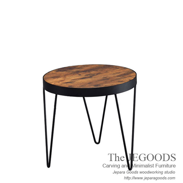 industrial metal and wood furniture. Another Rustic Side Table ; Industrial Metal And Wood Furniture