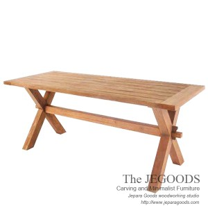 X Farmhouse Dining Table