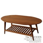 Oval Gambang Retro Coffee Table