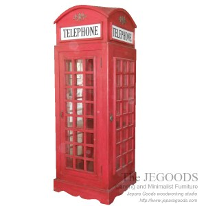 Telephone Boot Rack Union Jack