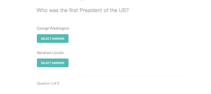 Interactive Quiz Application