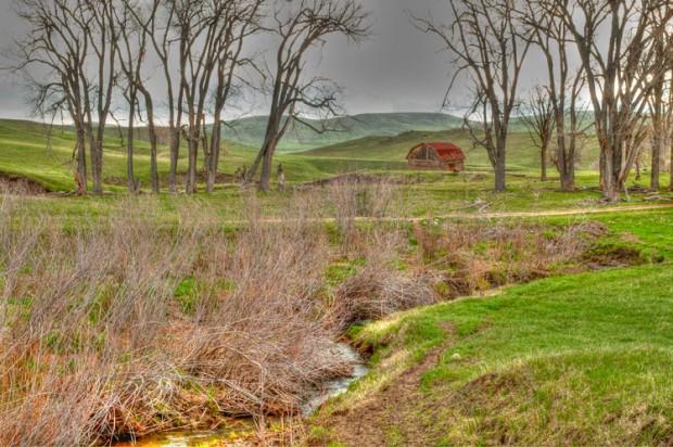 Barn in Rolling Hills