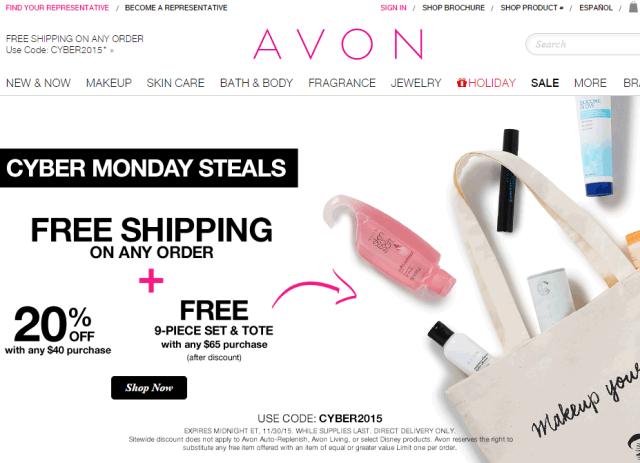 Cyber Monday Avon