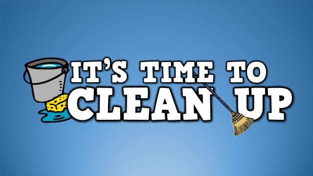 time-to-clean-up