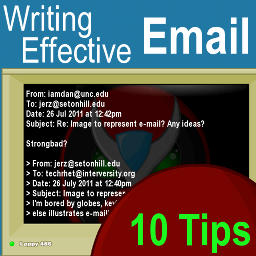 Email Tips Top 10 Strategies for Writing Effective Email Jerz s Literacy Weblog