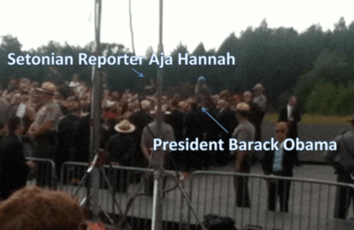 Hannah and Obama2