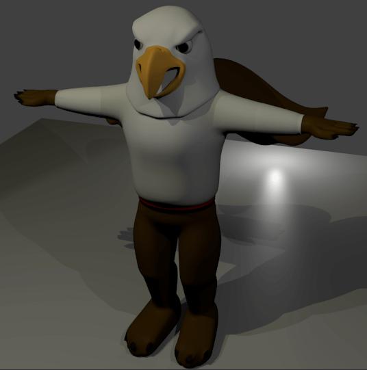 Griffin Blender3d