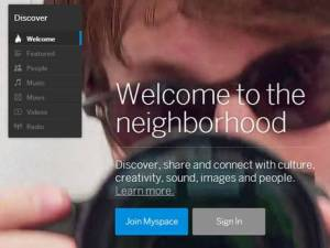 myspace+redesign