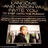 Jason Wu for Lancôme + Vogue Magazine: Beauty Collection Launch Party