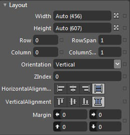 StackPanel Layout