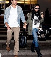 Jesse and Cara in LA