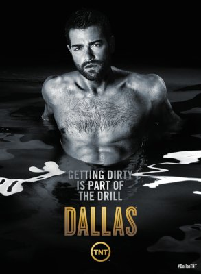 Jesse Metcalfe - Dallas Season 3 Poster