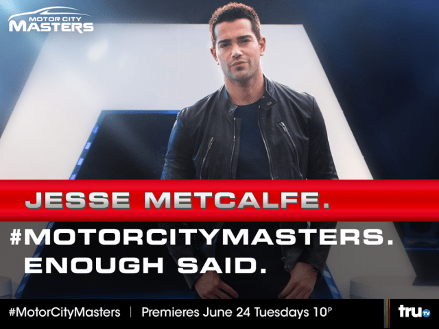 Jesse Metcalfe on Motor City Masters