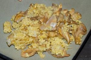 Balsamic Mushroom Millet