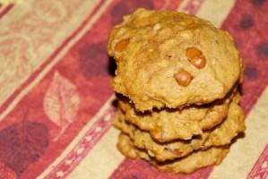 Pumpkin Harvest Cookies