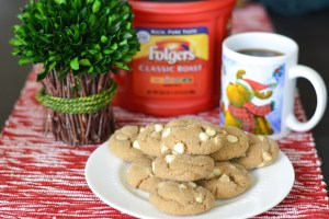 White Chocolate Ginger Molasses Cookies