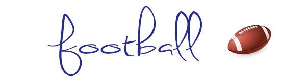 Senior Portrait Ideas Football