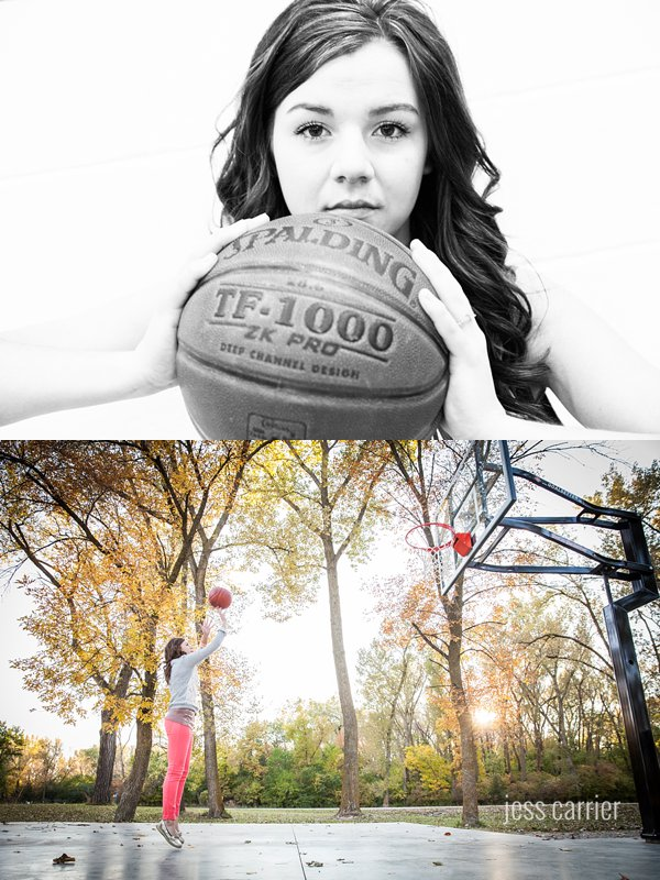 Basketball Player Senior Photo Ideas (Click to see more)