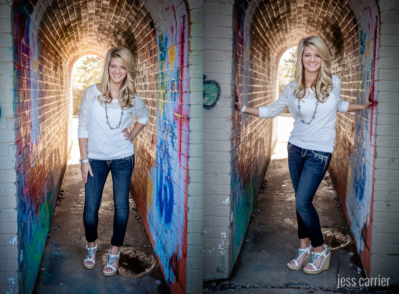 Senior Portraits | Graffiti