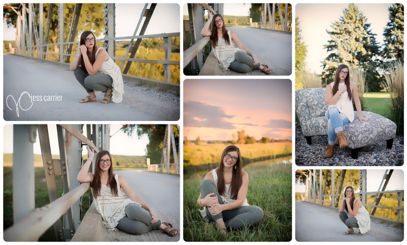 Senior Photos : Girl Poses