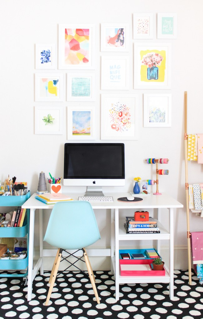 7 Creative Office Space Ideas - Clean & Colorful