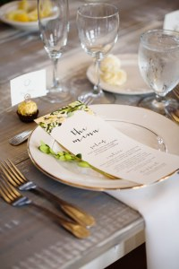 rustic wedding tablescape and menu - Image by: Morgan Matters | http://jessicadum.com/portfolio/meredith-kevin/