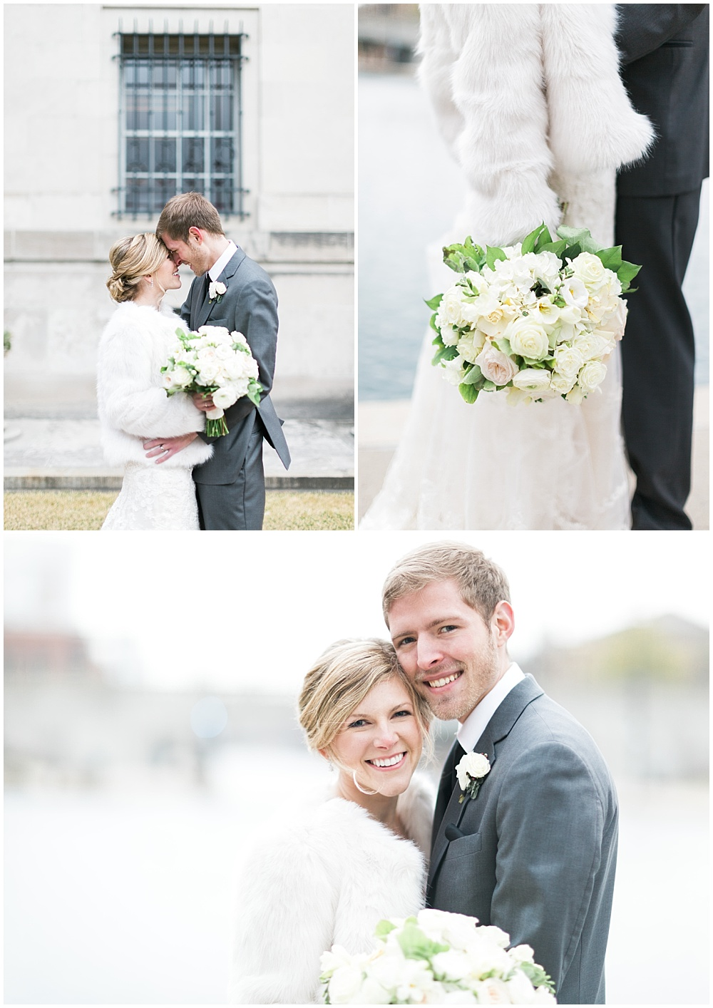 Winter Wedding Style | Downtown Indianapolis and CANAL 337 Wedding by Cory + Jackie Photography & Jessica Dum Wedding Coordination