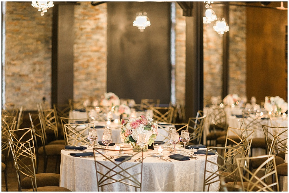 Navy + Pink Wedding Inspiration | Downtown Indianapolis and CANAL 337 Wedding by Cory + Jackie Photography & Jessica Dum Wedding Coordination