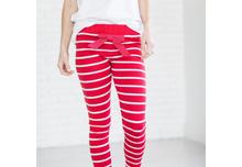 Red Holiday Striped Pajama Pants | Jessica Dum Wedding Coordination December Favorites