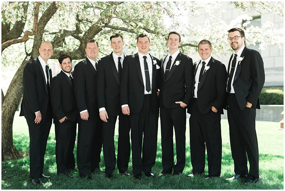 Groomsmen | Downtown Indianapolis Wedding by Gabrielle Cheikh Photography & Jessica Dum Wedding Coordination