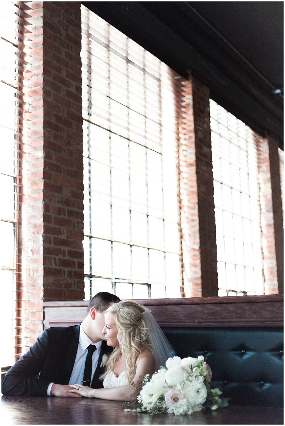 Bride and Groom | Downtown Indianapolis Wedding by Gabrielle Cheikh Photography & Jessica Dum Wedding Coordination