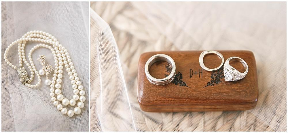 Bridal jewelry | Family Farm wedding by SB Childs Photography & Jessica Dum Wedding Coordination