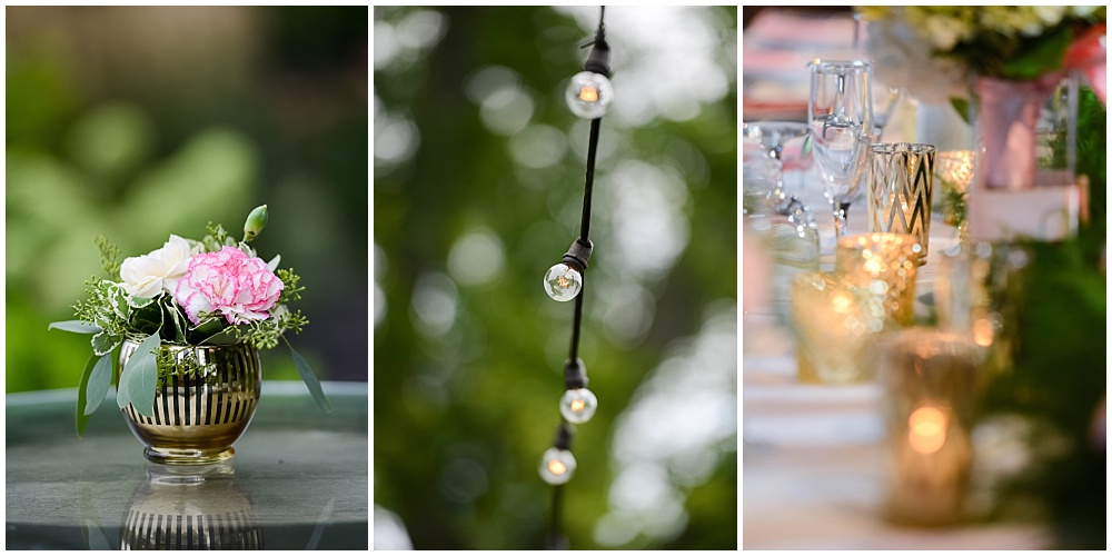 Pink and navy wedding with gold accents | Mustard Seed Gardens Wedding by Sara Ackermann Photography & Jessica Dum Wedding Coordination
