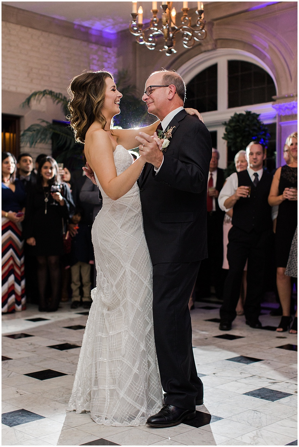 Father daughter dance | Navy and Gold Wedding at Laurel Hall with Ivan & Louise Photography + Jessica Dum Wedding Coordination