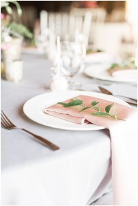 leaf place setting, rustic barn wedding, Ivan & Louise Images, Jessica Dum Wedding Coordination