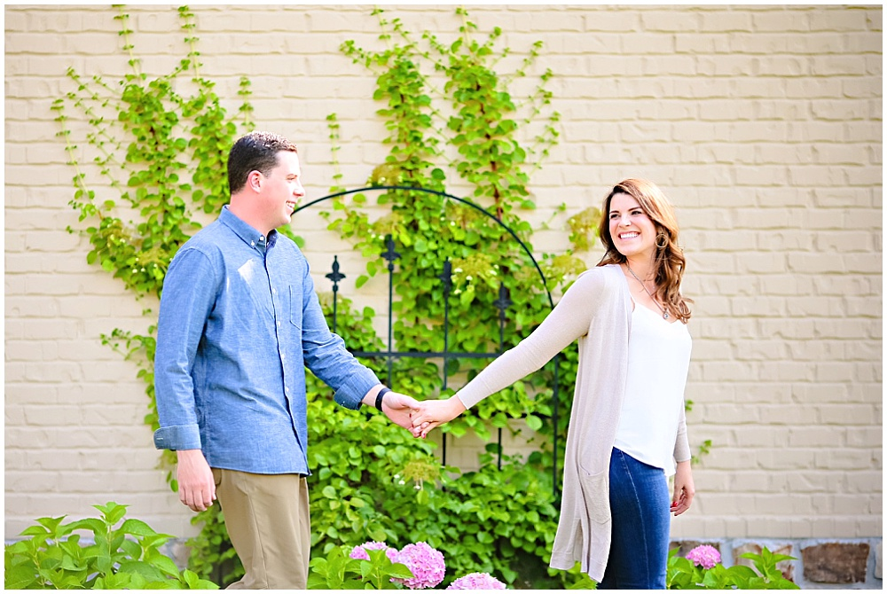 Carmel, Indiana Family Home Engagement Session | Jessica Strickland Photography