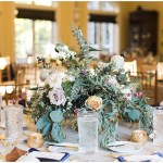 Navy and gold wedding tablescape   Laurel Hall wedding with Ivan & Louise Images + Jessica Dum Wedding Coordination