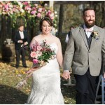 pink rustic fall ceremony, rustic barn wedding, ellie + tyler, ivan and louise images, jessica dum wedding coordination