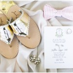 Bridal accessories, navy and pink southern wedding | Ivan & Louise Images and Jessica Dum Wedding Coordination