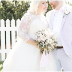 Bride and groom portraits, navy and pink southern wedding | Ivan & Louise Images and Jessica Dum Wedding Coordination