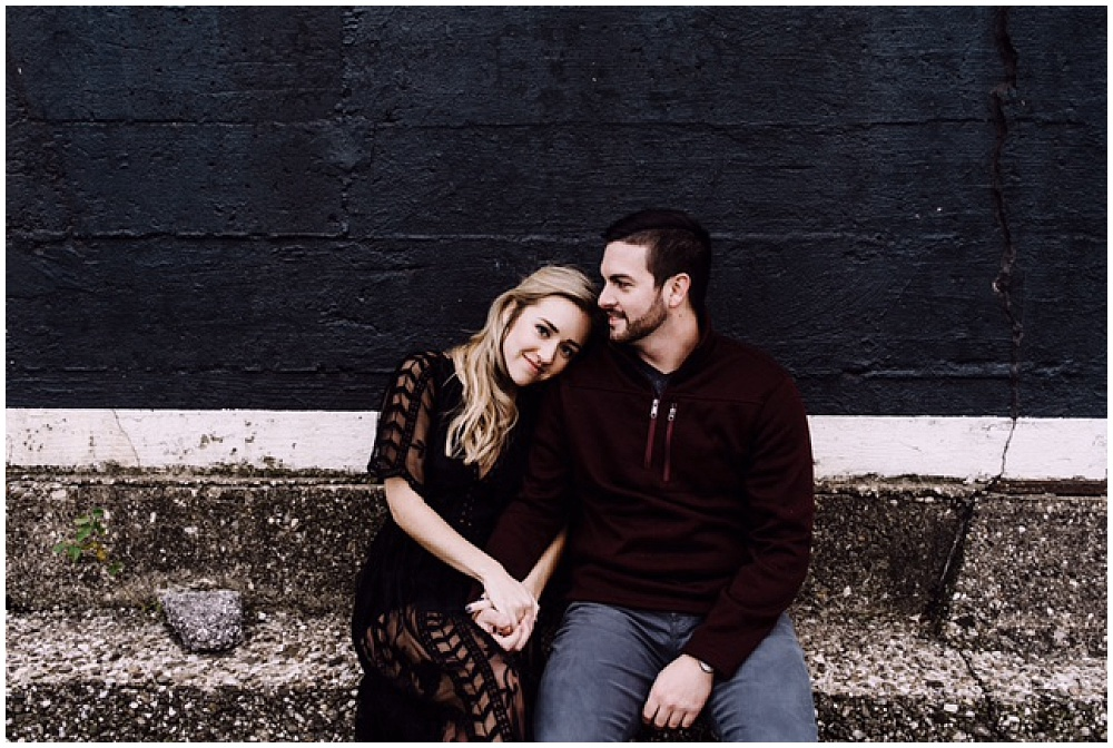 Moody indianapolis engagement session | Stereoscope Photography