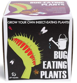 Geek Girl Gifts - Grow Your Own Bug Eating Plants