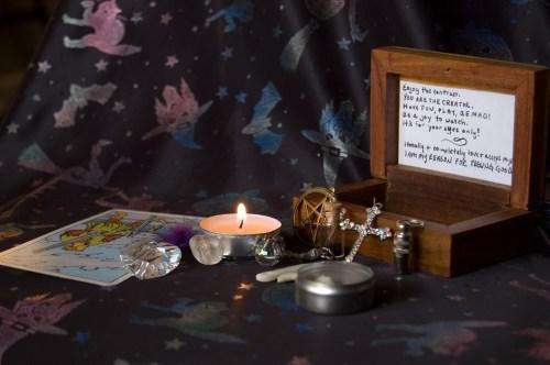 Jessica Mullen's Altar display