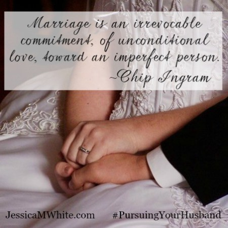 Marriage is an irrevocable commitment Chip Ingram JessicaMWhite.com Shareable