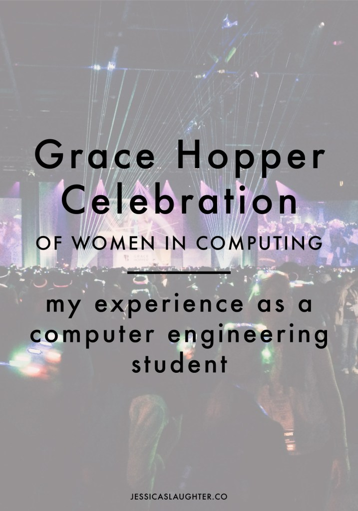 Grace Hopper Celebration of Women in Computing 2016